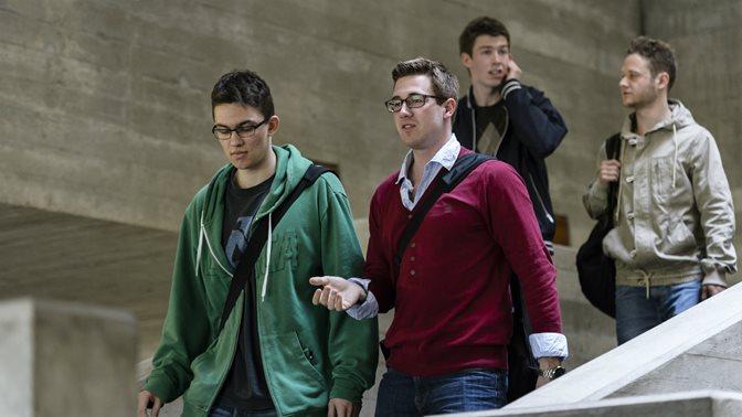 Studierende an der Universitaet St.Gallen (HSG)